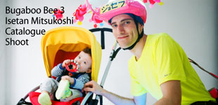 Hello Baby: Joseph and Ricky featured in new Isetan Catalogue