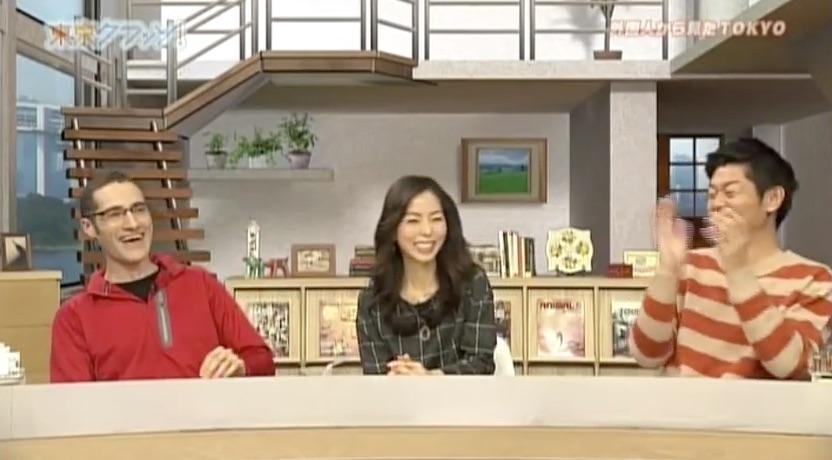 TV: Tokyo Kurasso! Joseph Tame on MXTV