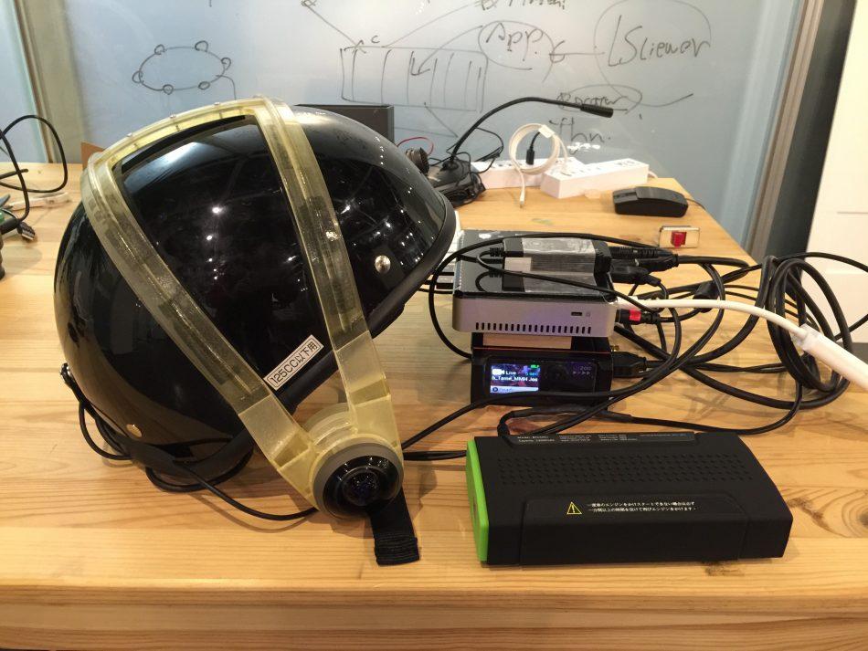 Tokyo Marathon 2016 360 degree camera kit