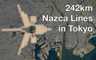 Nazca Lines Found in Tokyo?